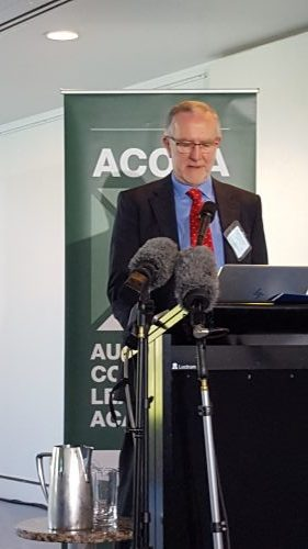 Bruce Godfrey ACOLA Launch