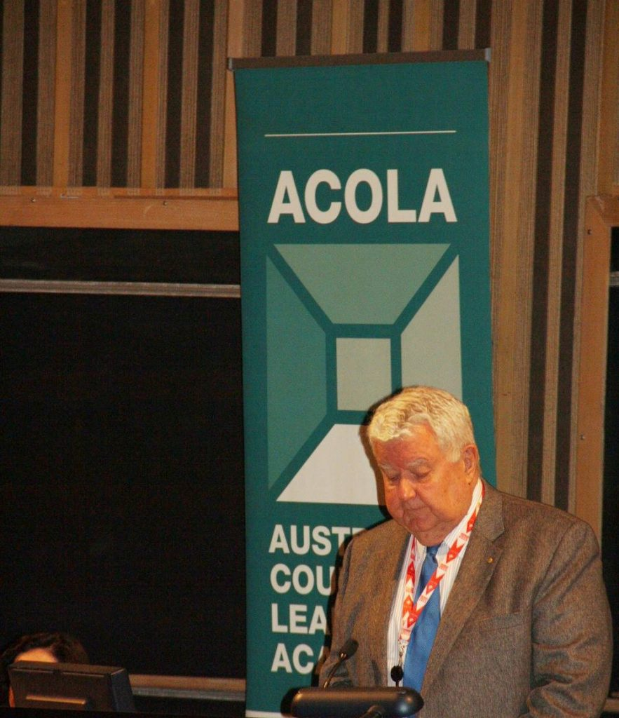 Ian Chubb ACOLA report launch Technology and Australia's Future